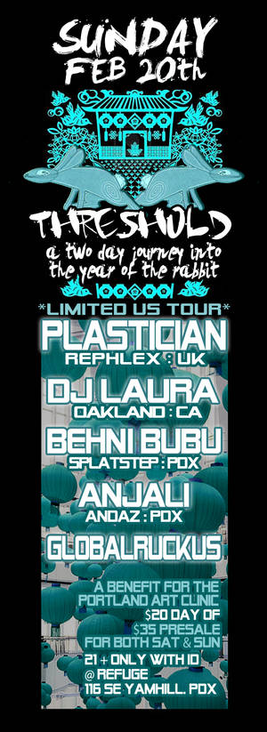 plastician threshold flyer