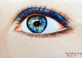 Eye by kansineedegraefart