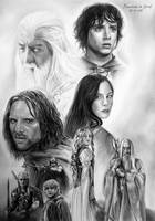 The Lord Of The Rings by kansineedegraefart
