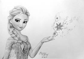 Elsa, Frozen by kansineedegraefart