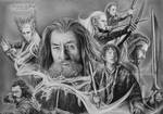 The Hobbit drawing
