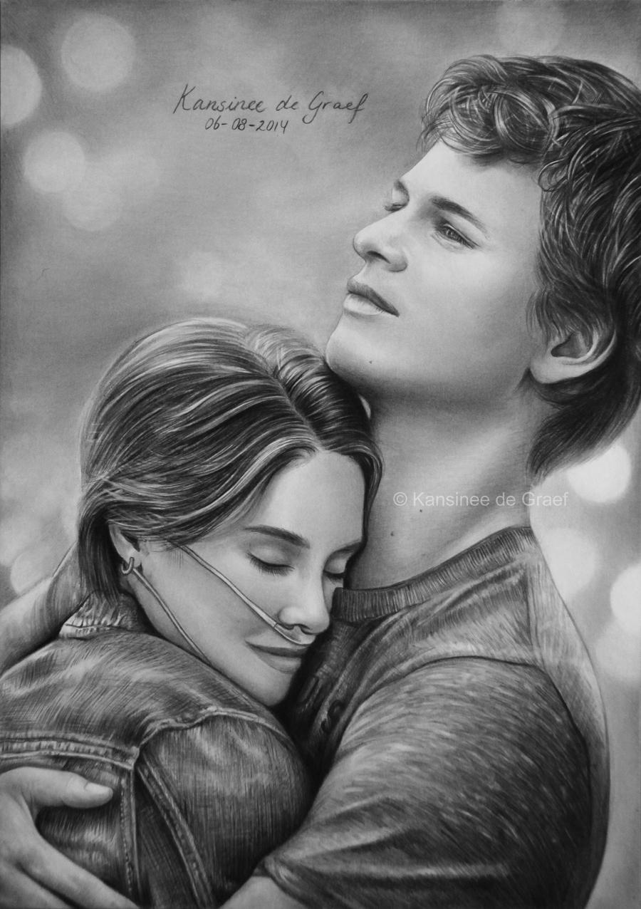 Hazel Grace Lancaster and Augustus Waters by ...