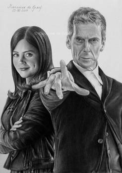 12th Doctor and Clara Oswald
