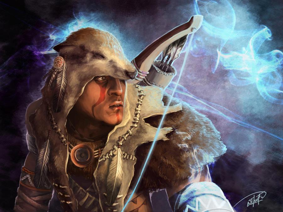 Lone wolf by NThartyFievi