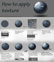 How to apply texture - tutorial