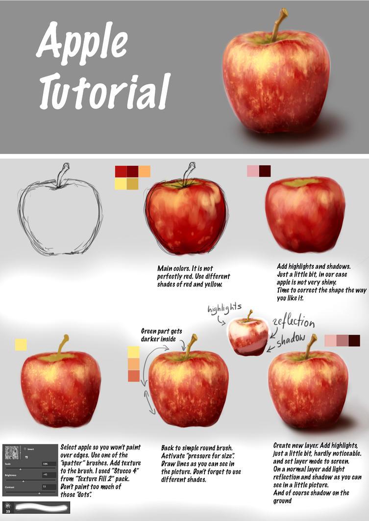 Apple Tutorial By Fievy On DeviantArt