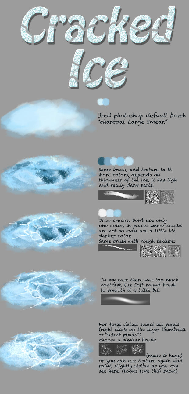 Ice tutorial by fievy on deviantart ice tutorial by fievy baditri Images
