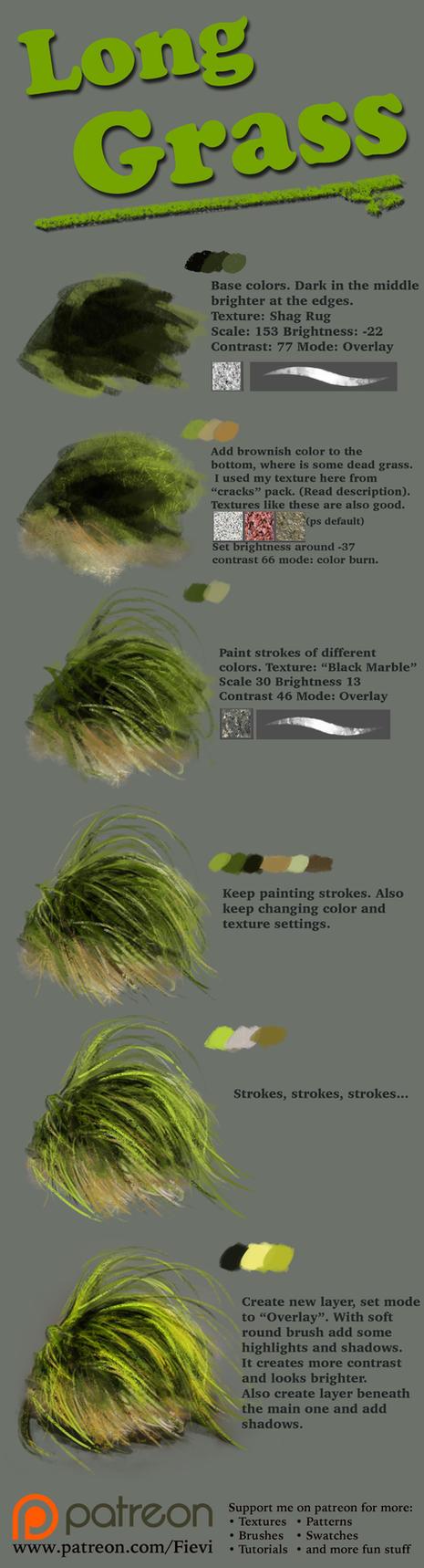 Grass tutorial 2 by Fievy