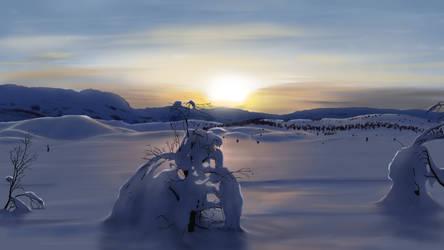 Winter by Feimen