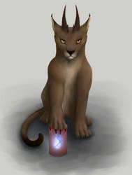 Big cat 1 by Feimen