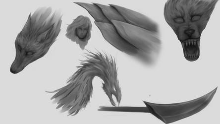 Sketches by Feimen