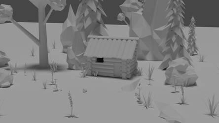 Cabin 3d