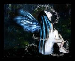Fairie Blue by damedemort