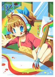 Rainbow-Holic by airana