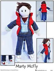 Marty McFly Plushie
