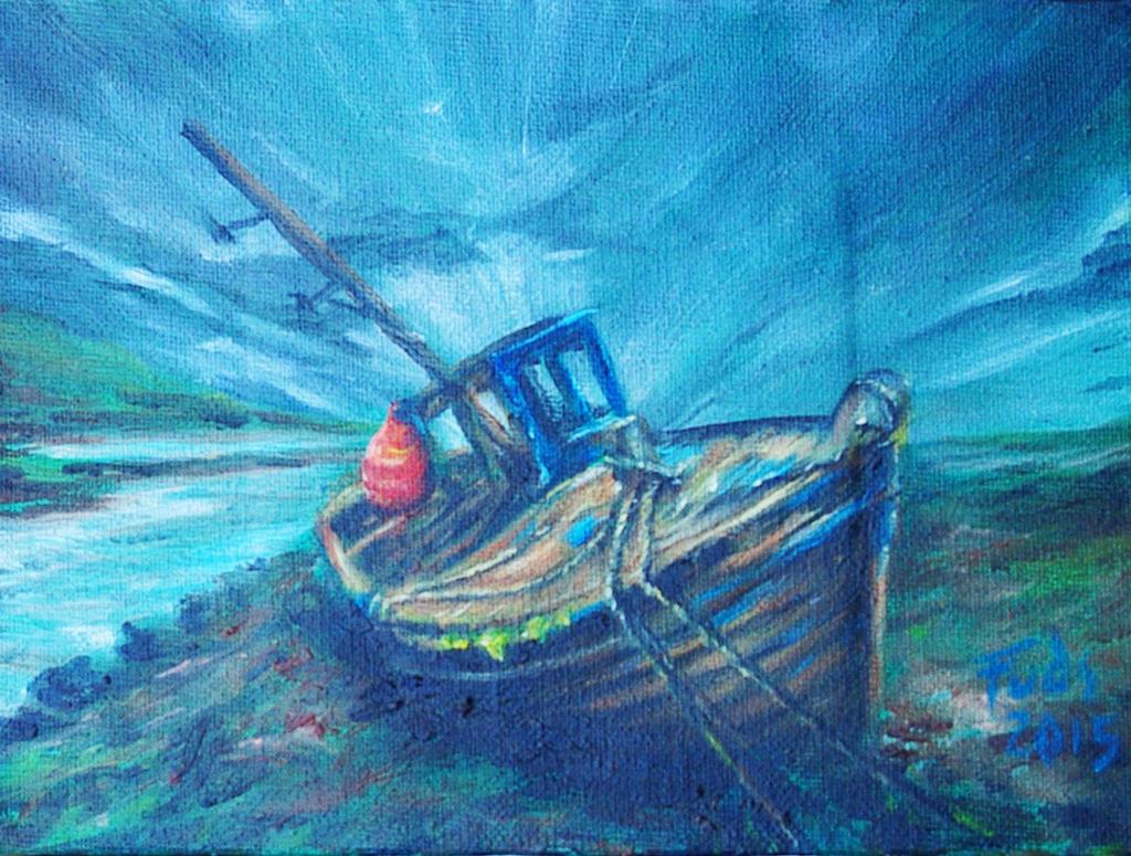 Killybegs Boat by bigbadfuds