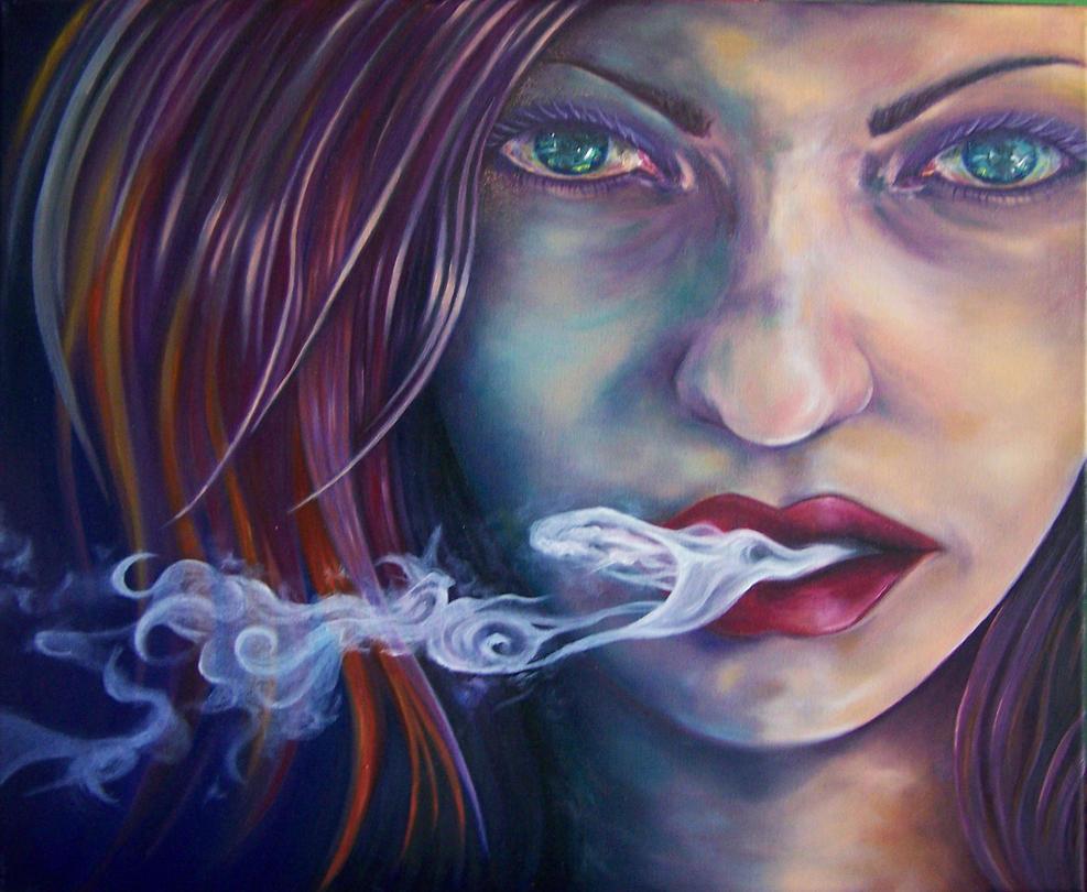 Smoking by bigbadfuds