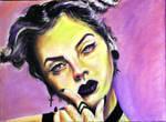 Lauren Martin (oil on canvas 30cm x 40cm)