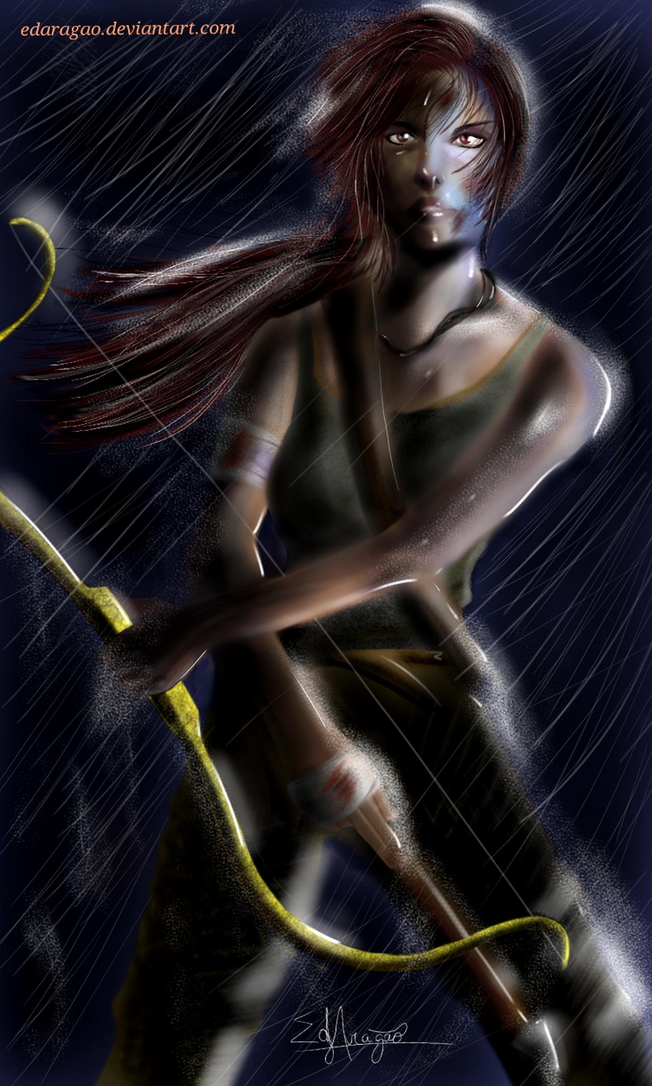Lara Croft reborn by EdAragao