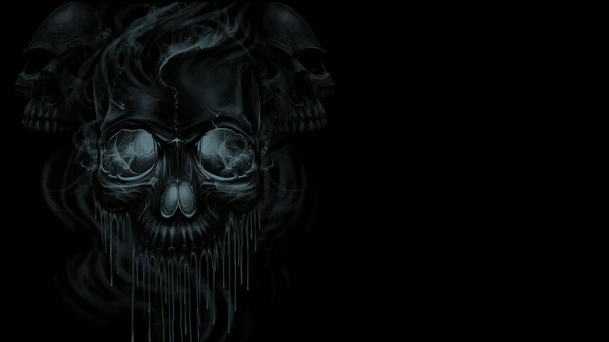 KISS-melting-skulls-wallpaper by cbowman57 ...