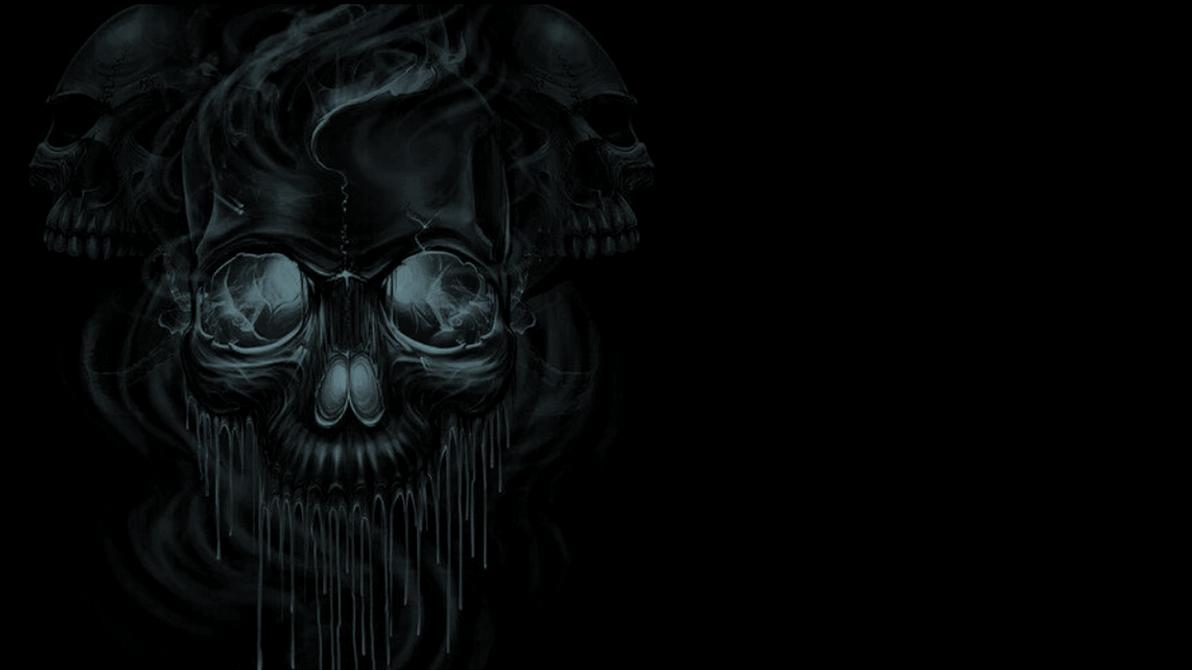 KISS-melting-skulls-wallpaper by cbowman57