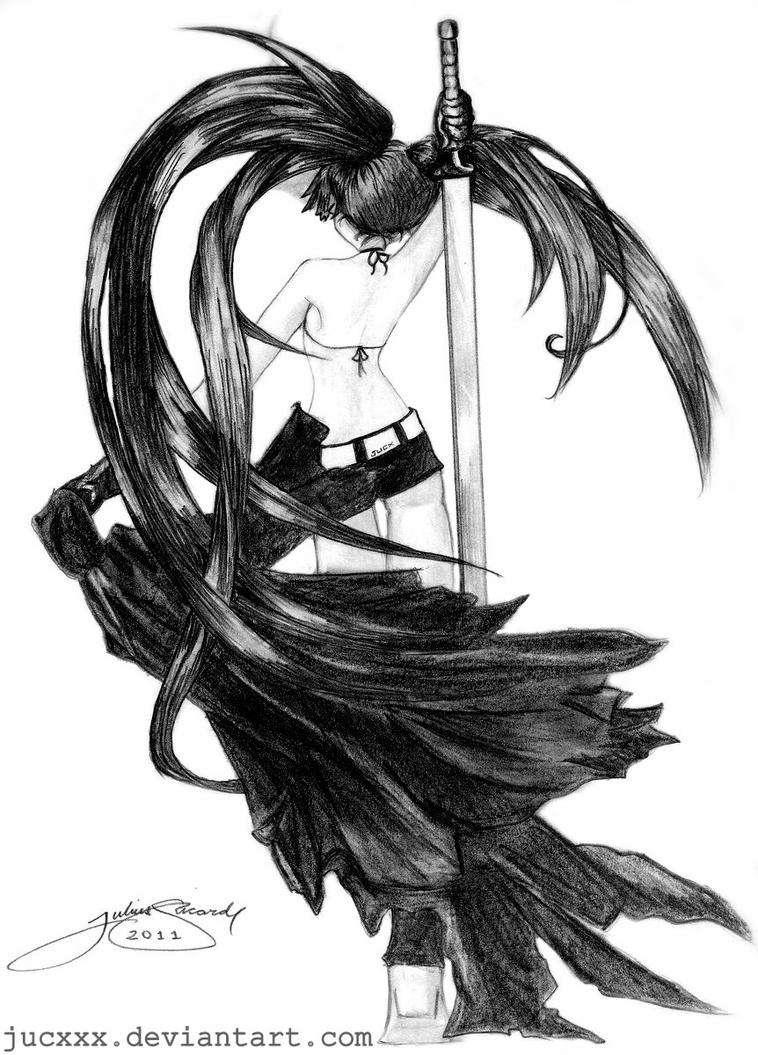 Black Rock Shooter by jucxxx