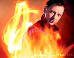 Simm on Fire by reignoffire86