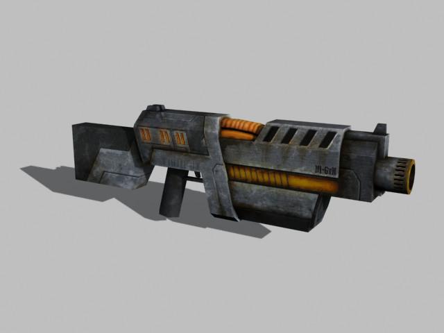 Futuristic Gun by JOPPETTO