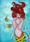 Dreaming on aquamarine tides