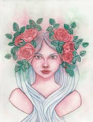 Rose nouveau by Eimiel