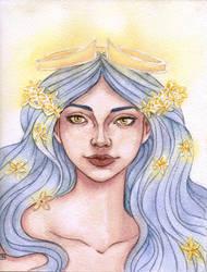 Queen goddess by Eimiel