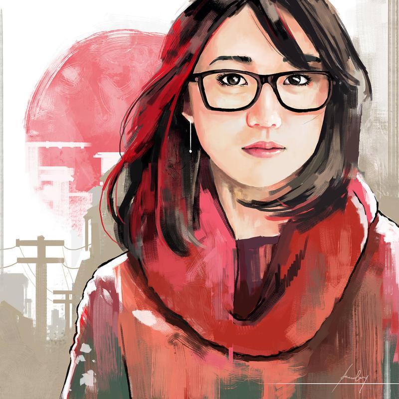 Yuko Oshima by GoveRtZ