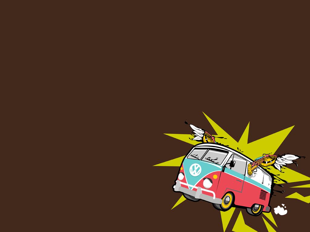 Bus Wallpaper by kayaakin