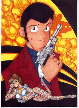 Lupin with Megatron