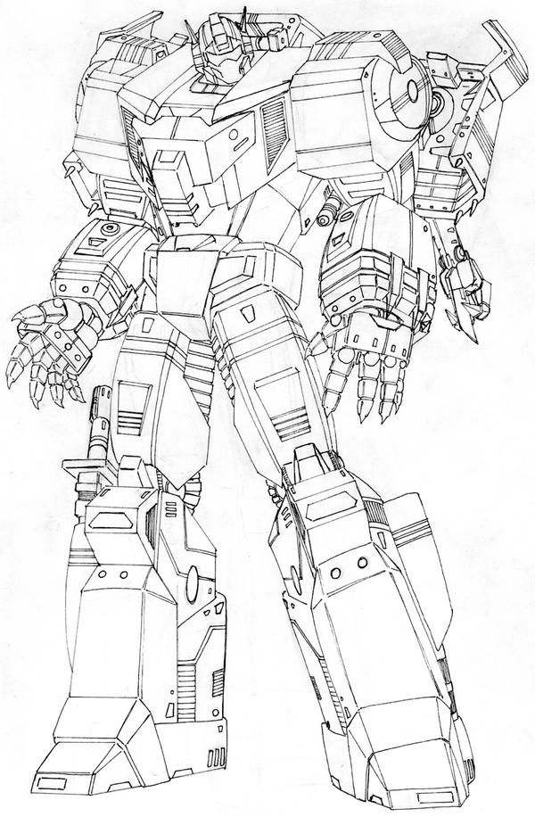 Transformers grimlock coloring pages pictures to pin on for Grimlock coloring page