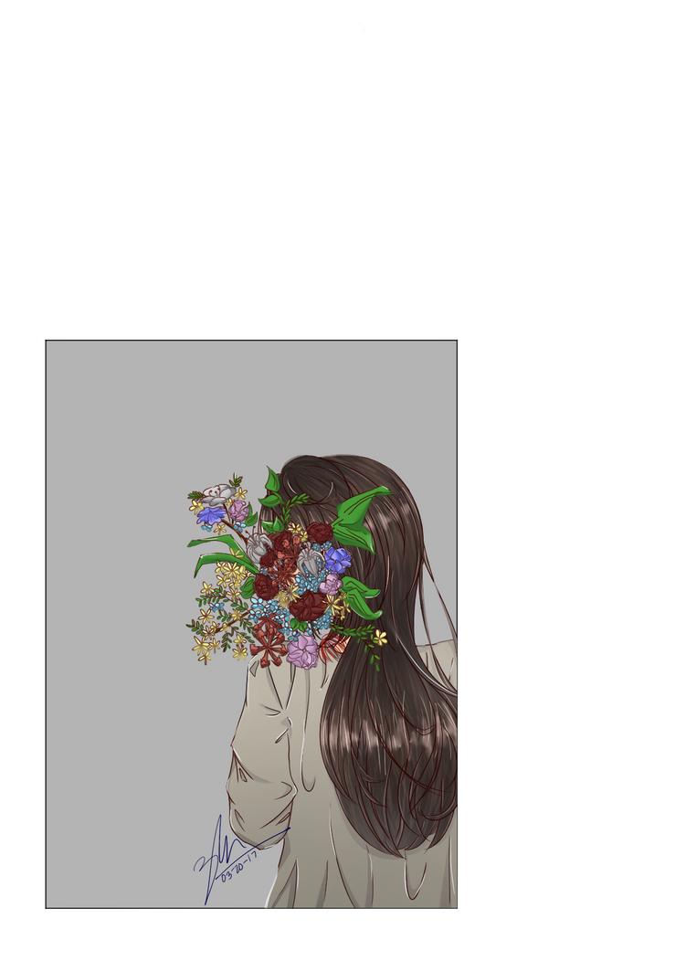 Disarray of Flowers by chocoyeyi
