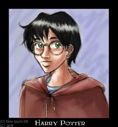 Harry portrait - HP by Noe-Izumi