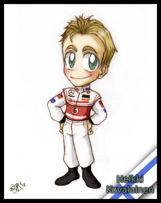 F1 chibis- Heikki Kovalainen by Noe-Izumi