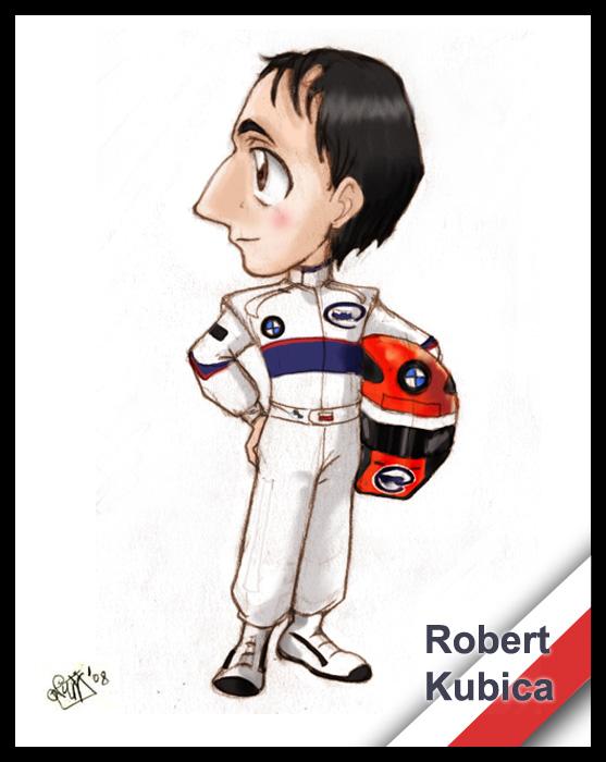 F1 chibis- Robert Kubica by Noe-Izumi