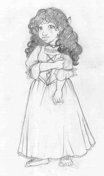 Lily B Baggins sketch