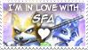 I love SFA stamp by Noe-Izumi