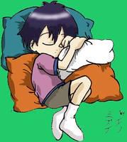 Ken-chan sleeping by Noe-Izumi