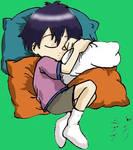 Ken-chan sleeping