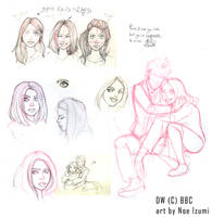 another DW sketches bunch by Noe-Izumi