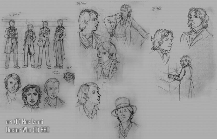 DW sketches by Noe-Izumi