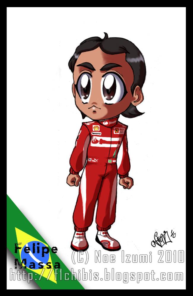 F1Chibis- Felipe Massa 2010 by Noe-Izumi