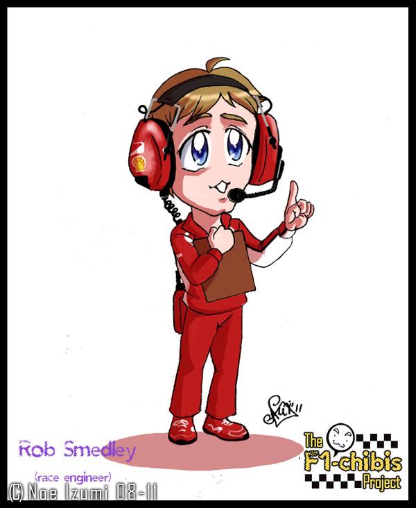 F1 Chibis 2011- Rob Smedley by Noe-Izumi