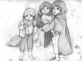 LOTR- Frodo Merry Pippin -new version
