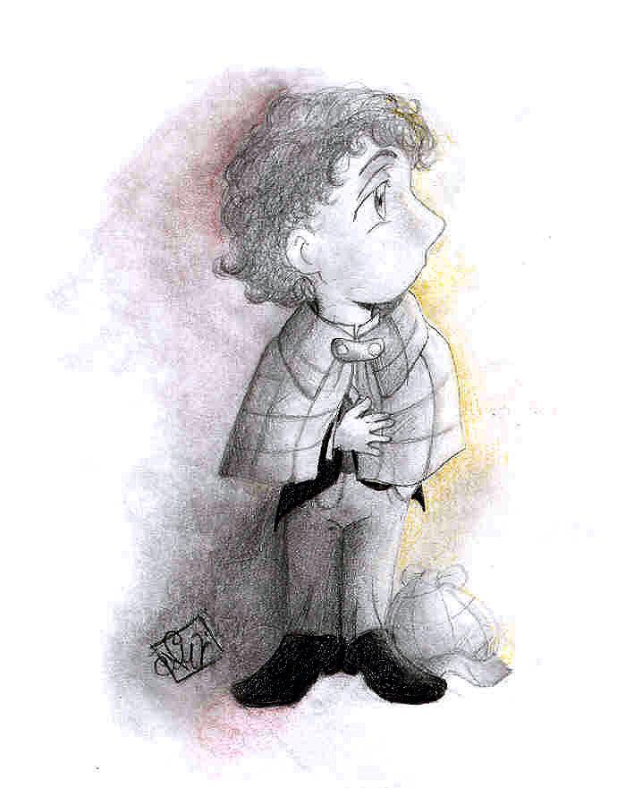 Chibished Sherlock by Noe-Izumi