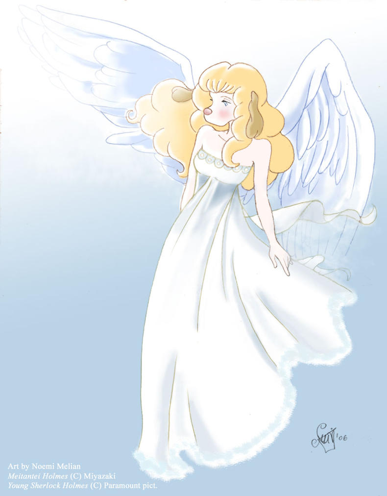 My angel... -MHstyle by Noe-Izumi